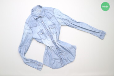 Рубашки и блузы - Цвет: Голубой - Киев: Жіноча джинсова сорочка Tezenis, р. S   Довжина: 68 см Ширина плеча: 3
