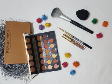Personalni proizvodi | Cacak: Sminka SET ( Revolution Jewel Collection paleta, olovka za oci zlatna