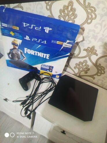 Электроника - Кунтуу: Продаю PS 4 новое состояние отличное писать на номер 500GB