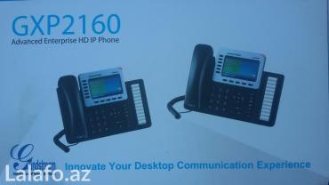 ip телефония для офиса в Азербайджан: IP Telefon aparati.Internet uzerinden.Model CXP2160.Tez
