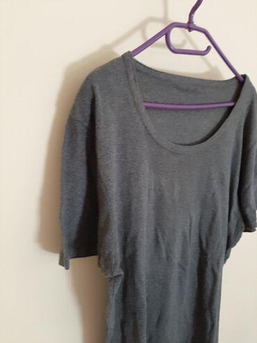 Siva duza majica zenska vel XL