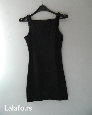 Crna mini haljina, veličina s - Sabac