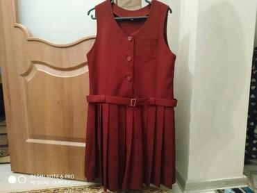 Школьная форма - Кыргызстан: Школьный костюм! Размер 32, цвет бордовый, состояние отличное! Токмок