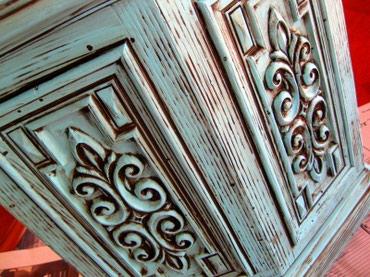 Отделка мебели медью серебром золотом патиной и изготовление в Бишкек