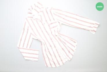 Жіноча сорочка у смужку, р. S   Довжина: 65 см Ширина плеча: 37 см Рук