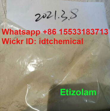 Stock Etizolam yellow replacement Alp whatsapp+86 Want