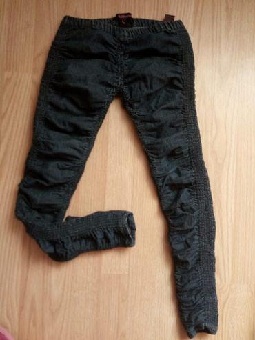 Teksas helan pantalone zguzvane xs vel ili za devojcicu 10 god - Veliko Gradiste