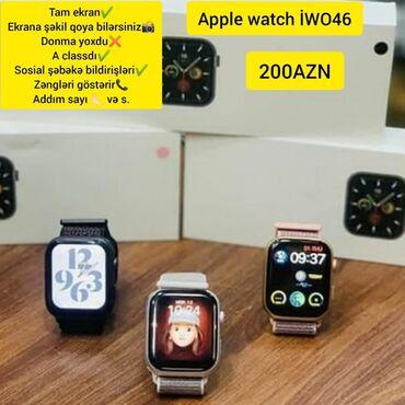 elektron termometr - Azərbaycan: Apple Watch İWO46
