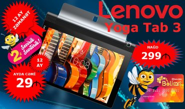 "Lenovo Yoga Tablet 3 ""10"" в Баку"