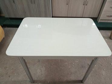 Стол с акриловой поверхностью, размер в Бишкек