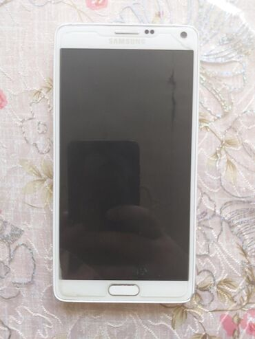 Samsung Galaxy Note 4 hec bir siniqi cizigi yoxdur alinan gunden anti
