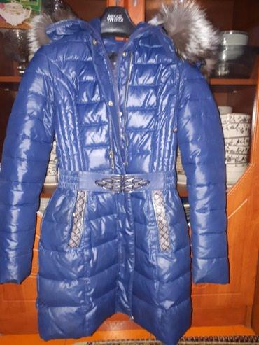 стильную зимнюю куртку в Кыргызстан: Продаю зимнюю куртку, размер s + безрукавка! Почти новая! В идеальном