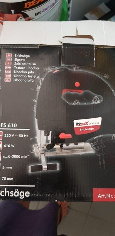Ubodna testera - Srbija: Ubodna testera