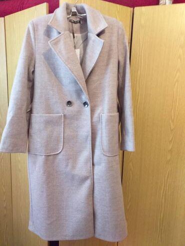 Кашемировое пальто драп.Размер 48.Подарилиразмер не