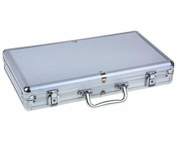 Набор для покера, в металлическом кейсе (карты 2 колоды, фишки 300 шт