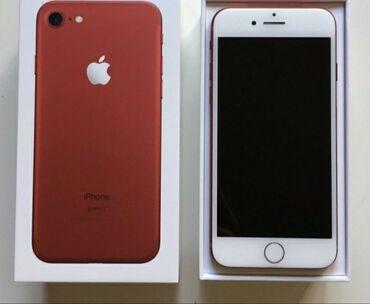 netbook satilir - Azərbaycan: İşlənmiş iPhone 7 128 GB Qırmızı