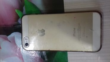 apple-iphone-5s-16gb - Azərbaycan: Iphone 5s 16gb gold çexol 2 dənə adapter və karopka verirəm