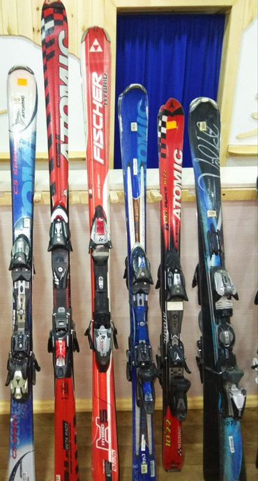 Лыжи в Лебединовка: Продаю по оптовым ценам лыжи разных ростовок, б. у, в хорошем состояни