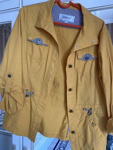 Куртки - Лебединовка: Ветровка б/у. В хорошем состоянии. Женская. Размер 44-46