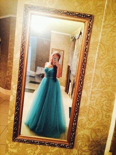 платье в пол на выпускной в Кыргызстан: Продаю выпускное вечернее платье в пол !