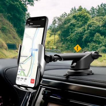 Patstafka+şarj+sensor idaretmə Avtomobiliniz üçün simsiz şarj cihazı