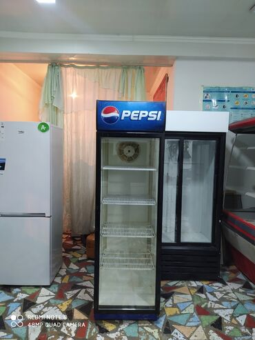 Б/у Однокамерный Синий холодильник