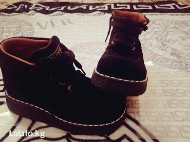 ботиночки новые  модные нат. замша. кожа (европа)31 размер в Бишкек