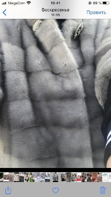 шуба 46 48 размер в Кыргызстан: Срочно норковая шуба размер 44-46-48 состояние идеал в носке 5-6раз це