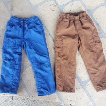 Pantalone - Srbija: Termo pantalonice postavljene tople i mekane,kao nove,velicina