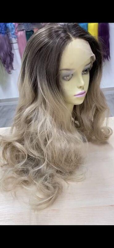 Продаю парик из термоволокна можно крутить, выпрямлять подстригат