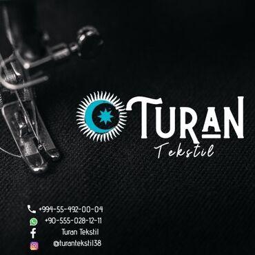 Salam Turan Tekstil'ə təcrübəli tikişçilər tələb olunur.  Maaş aylıqdı
