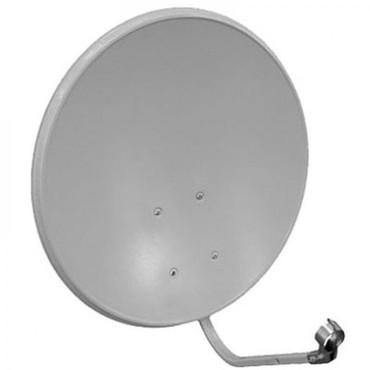 купить-спутниковую-тарелку в Кыргызстан: Продаю спутниковую антену тюнер, 2 головки полностью рабочая большая