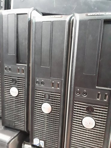 Dell optiples 330 core2 duo-2 ghz yuxari ram-2 hdd-80 tek - Bakı