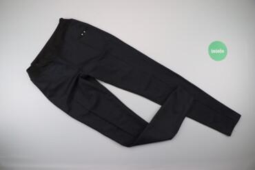 Жіночі штани у маленьку клітинку, р. XS    Довжина: 100 см Довжина кро