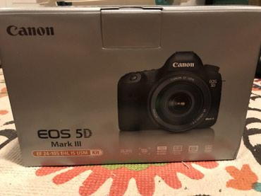 Liman şəhərində Canon EOS 5D Mark III 22.3MP Digital SLR Camera
