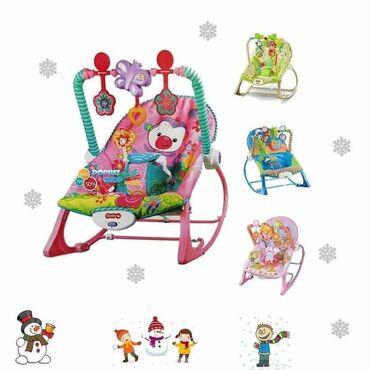 Frizerska stolica - Beograd: Njihalica stolicica za bebe4.890,00dinaraPodesite sedište uspravn0