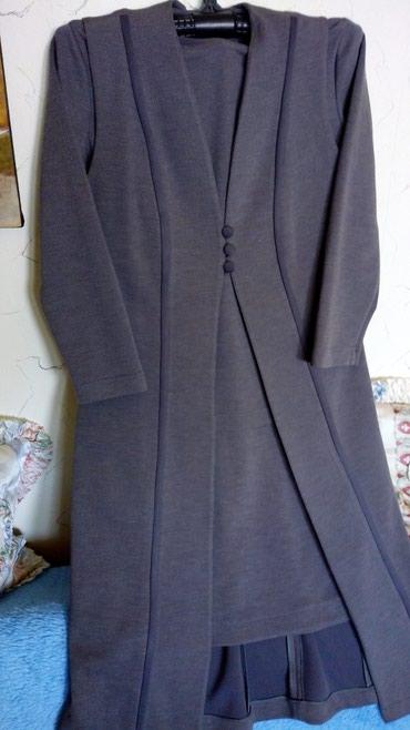 Nov iz 3 dela pamucni kvalitetan komplet,suknja,bluza i prsluk dug..br - Kraljevo
