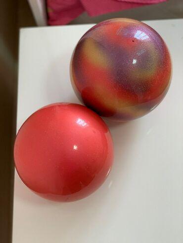Спорт и отдых в Лебединовка: Мячи гимнастические Chacot 17 размер - 4000 сом и Sasaki 18 размер -