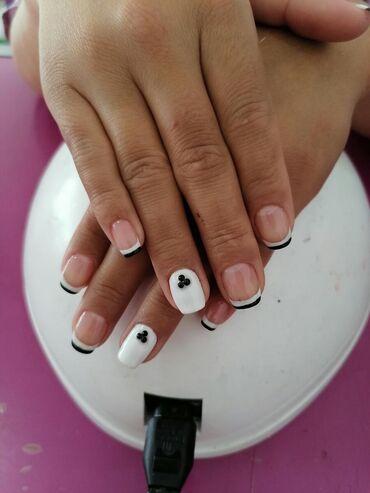 Мода, красота и здоровье в Кемин: Г. Кемин Маникюр шеллак, дизайн, укрепление, наращивание ногтей. Тене