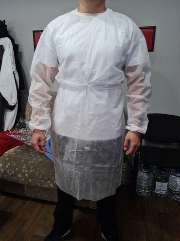 платье халат на запах в Кыргызстан: Оптом!!!Одноразовые хирургические медицинские халаты изготавливаются