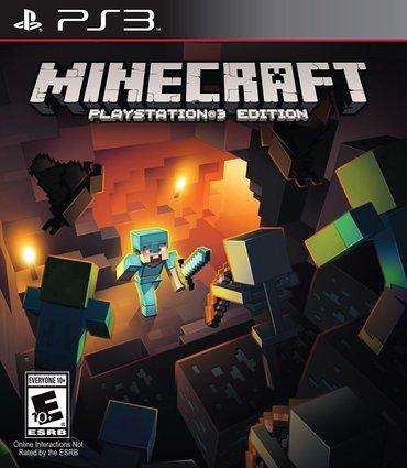 """Bakı şəhərində """"minecraft"""" playstation 3 oyunu"""