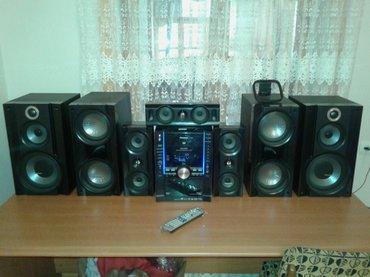 Gəncə şəhərində Panasonic sa vk 960 10000 watt guclu sesi bassi var akustikasinada soz