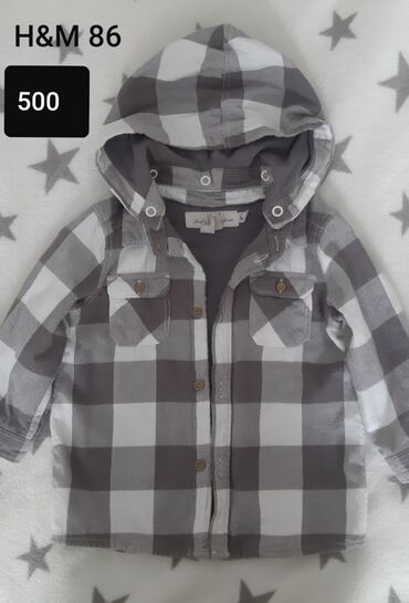 H&M 2u1,kosulja deblja,jaknica tanja,sa ili bez kapuljace.Velicina