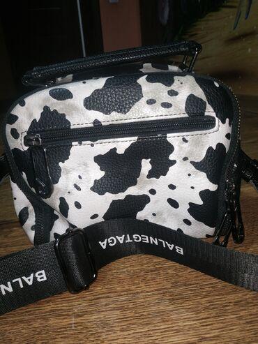 сумка жен в Кыргызстан: Женская кожаная сумка Balenciaga