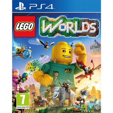LEGO:WORLDS для PlayStation 4(PS4) в Бишкек