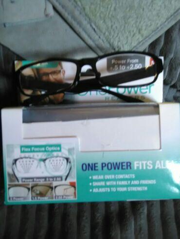 Naočari sa fleksibilnim fokusom za blizinu od +0,5-+2,5idealne za