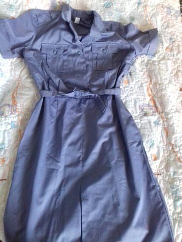 женская платья размер 46 48 в Кыргызстан: Г.Токмок платье милицейское абсолютно новое размер 46-48 производство