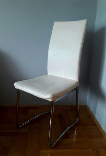 Stolice - stolica - trpezarijski set 5 stolica. Stolice su izradjene - Sremska Mitrovica