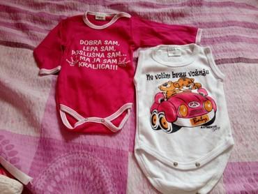 Ostala dečija odeća | Bajina Basta: Bodoci za bebu oba za 400 din