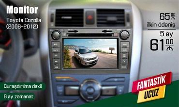 Bakı şəhərində Toyota Corolla monitoru